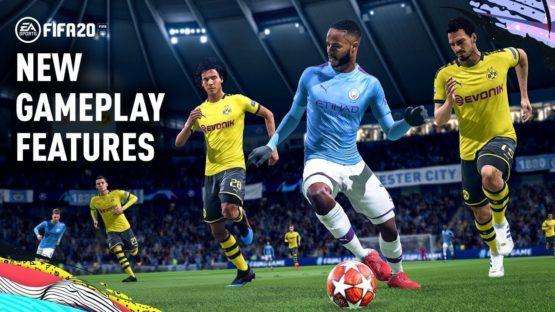 Jeu vidéo fifa 20 EA sport